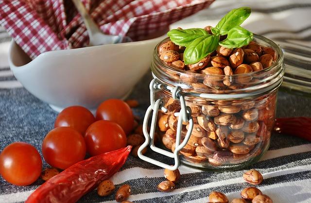 fazole a rajčátka