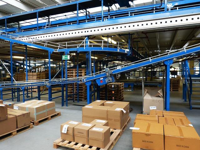 logistika, třídění zásilek