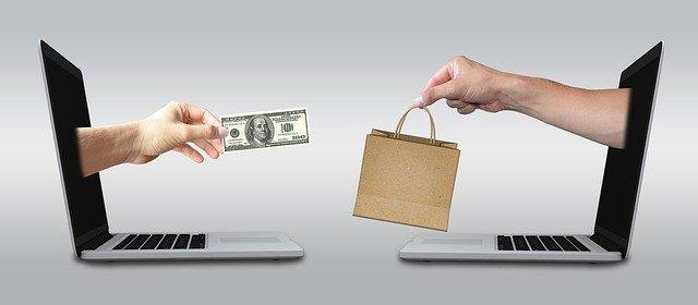 znázornění platby přes internet