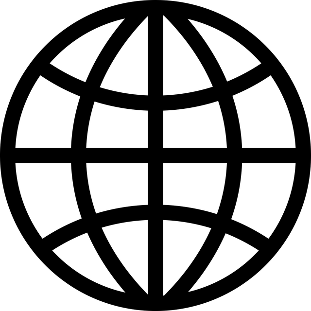 ikona internetových stránek