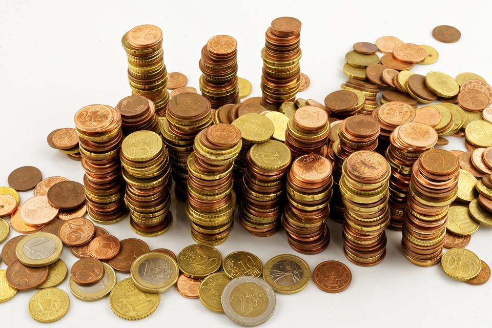 neuspořádané mince
